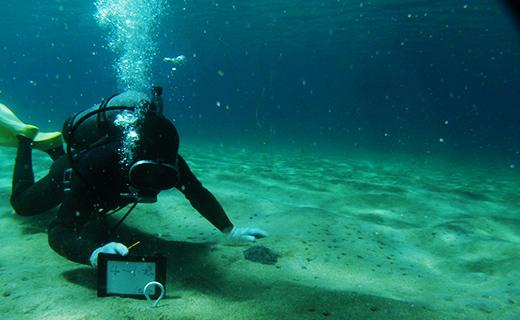 潜水調査・磁気探査